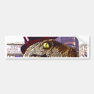 T-rex Ritz Bumper Stickers