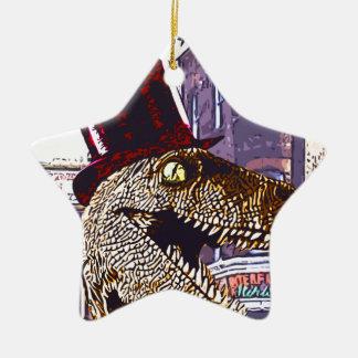 T-rex Ritz Ceramic Ornament