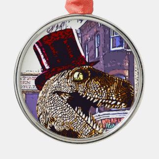 T-rex Ritz Metal Ornament