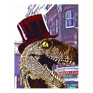 T-rex Ritz Postcard