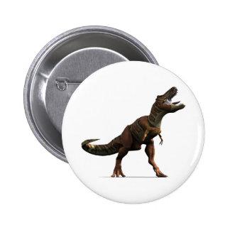 T-rex Roar 2 Inch Round Button