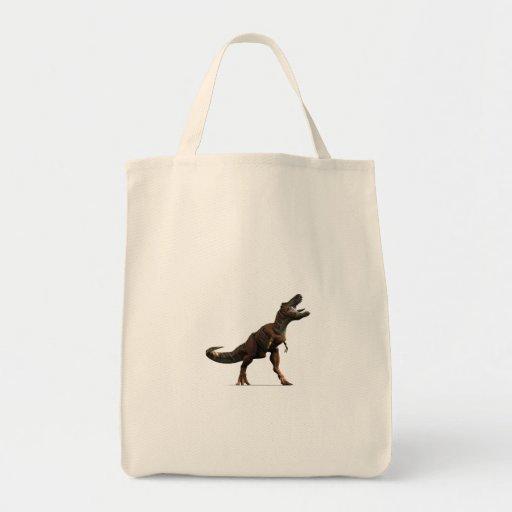 T-rex Roar Grocery Tote Bag