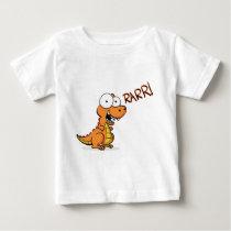 T-rex roaring baby T-Shirt