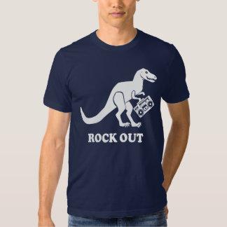T-Rex Rock Out Shirt