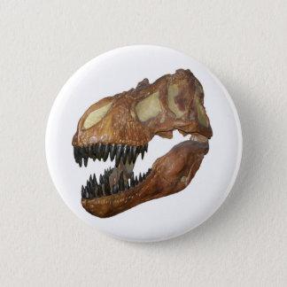 T-rex Skull Button