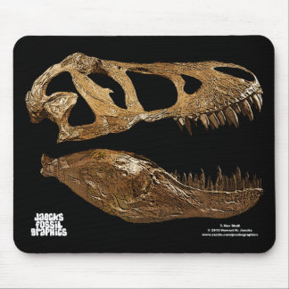 T rex Skull Mousepad