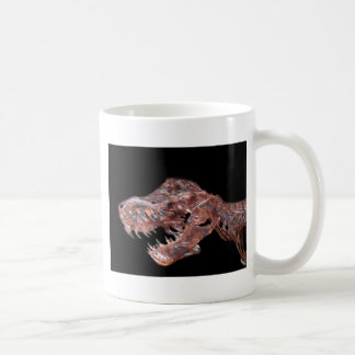 T-Rex Skull Coffee Mugs