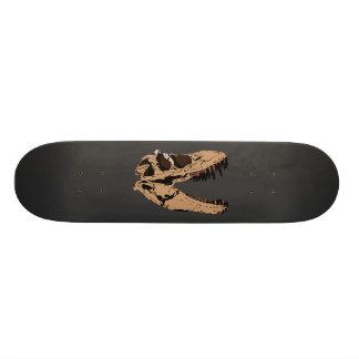 T-Rex Skull Skateboard
