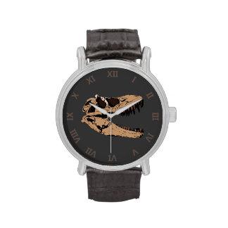 T-Rex Skull Wristwatch