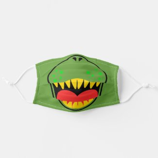 T-REX SMILE kids Cloth Face Mask