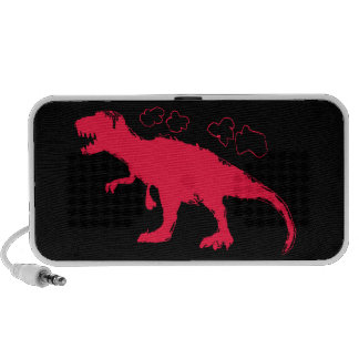 T-Rex Solid #FF0033 Portable Speakers