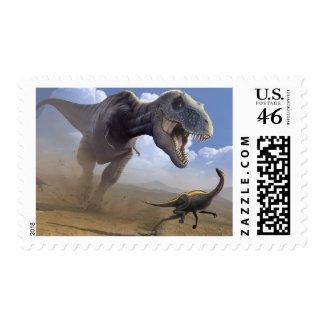 T Rex Stamp