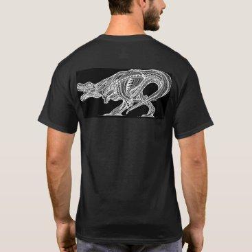 Beach Themed T-Rex T-Shirt