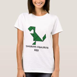 T-Rex + Tangrams = Tangram-osaurus Rex T-Shirt