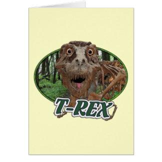 T-Rex Felicitación