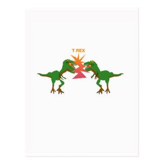 T Rex Postales