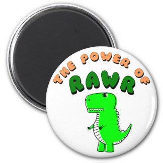 T-Rex The Power Of RAWR Magnet