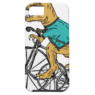 T-Rex Tri Wheel iPhone 5 Cover