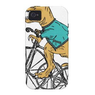 T-Rex Tri Wheel iPhone 4 Covers
