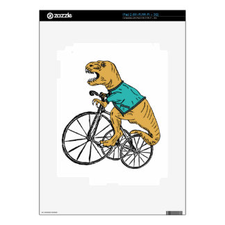 T-Rex Tri Wheel Decal For The iPad 2