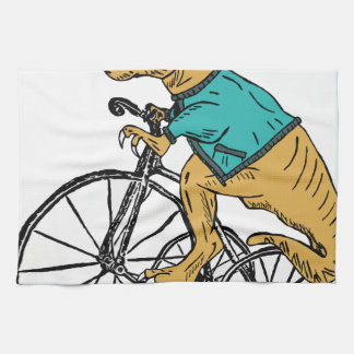 T-Rex Tri Wheel Hand Towel