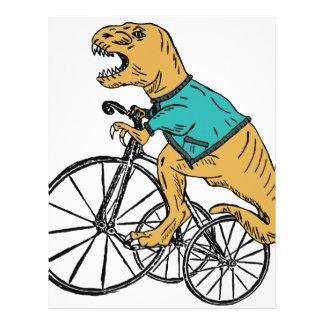 T-Rex Tri Wheel Letterhead
