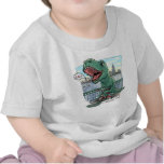 T Rex Tricycle T-shirts