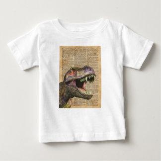 T-rex,tyrannosaurus,dinosaur Vintage Antique Art Baby T-Shirt