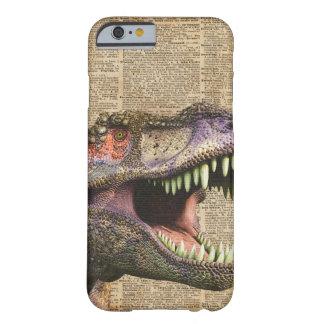 T-rex,tyrannosaurus,dinosaur Vintage Antique Art Barely There iPhone 6 Case