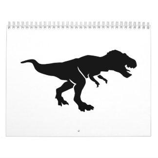 T-Rex Tyrannosaurus Rex Calendar