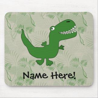 T-Rex Tyrannosaurus Rex Dinosaur Cartoon Kids Boys Mouse Pad