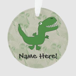 T-Rex Tyrannosaurus Rex Dinosaur Cartoon Kids Boys Ornament