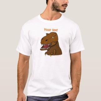 T-Rex Tyrannosaurus Rex Scary Cartoon Dinosaur T-Shirt