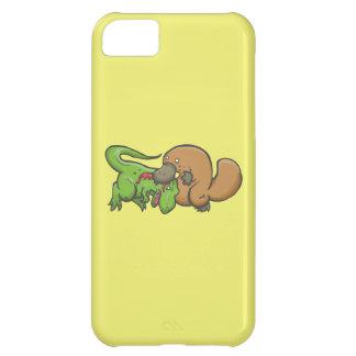 T-rex vs Platypus iPhone 5C Case