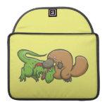 T-rex vs Platypus MacBook Pro Sleeve