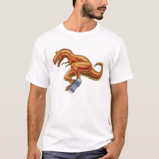 T-rex with Skateboard dark T-Shirt