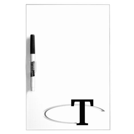 T Ring Dry Erase Board