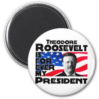 T. Roosevelt Forever Imanes
