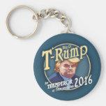 T-Rump 2016! Basic Round Button Keychain