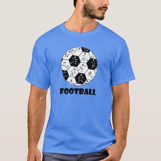 T-S del diseño del kuroi-T del》 del fútbol del 《 Playera