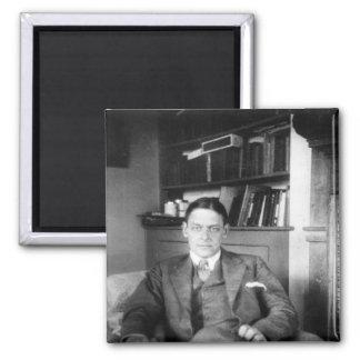 T.S. Eliot 2 Inch Square Magnet