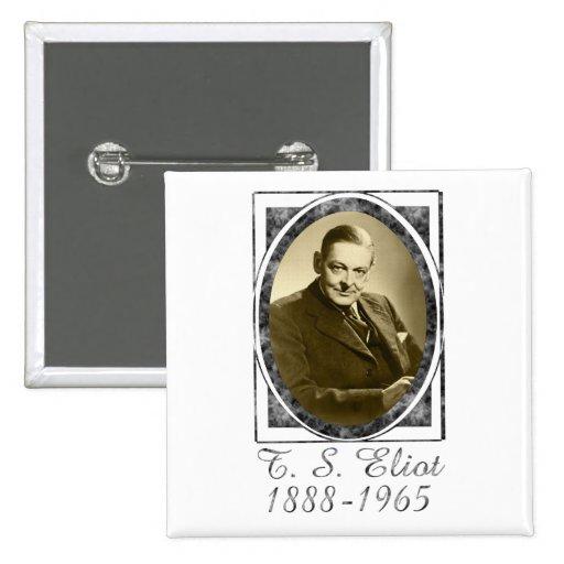 T.S. Eliot Button