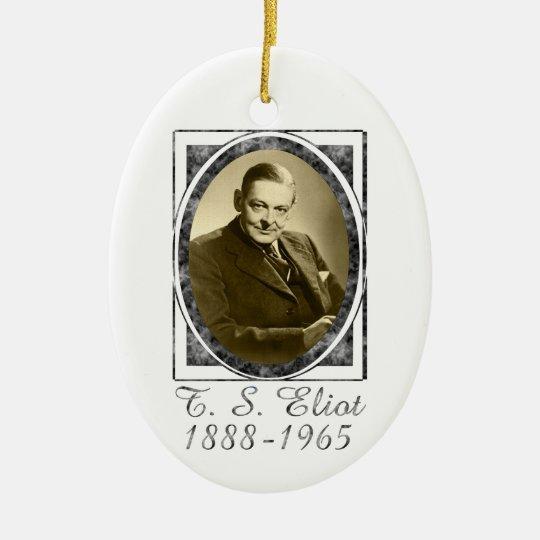 T.S. Eliot Ornament