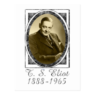 T.S. Eliot Post Card