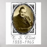 T.S. Eliot Poster
