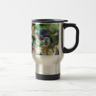 T. S. ELIOT - watercolor portrait Travel Mug