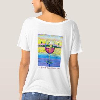 T-Shirt,  A Glass of Wine, a World away! T-Shirt