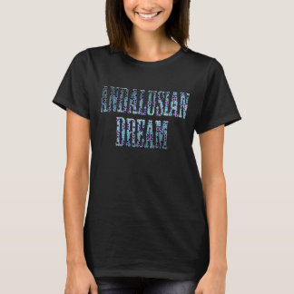 T-shirt ANDALUSIAN DREAM. Mosaic of Morocco