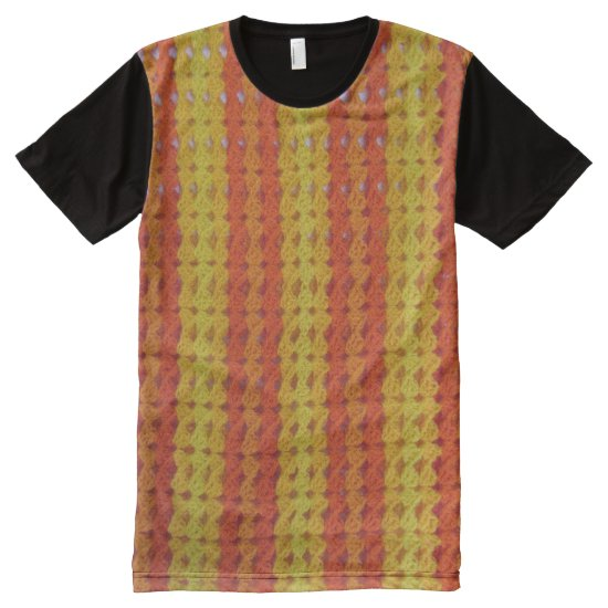 t-shirt (ao) - Crochet Pattern in Yellow & Orange