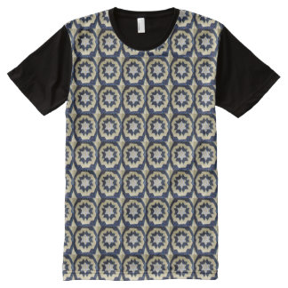t-shirt (ao) - Quilted Star Pattern